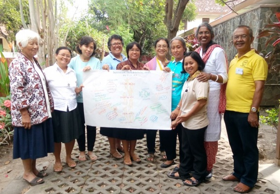 Visioning Integration for Mission, in Indonesia