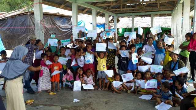 Reaching out to the people of Palu