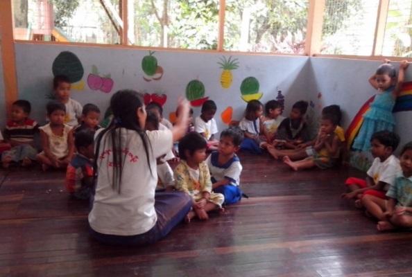 Good Shepherd Nurseries For Children In Myanmar